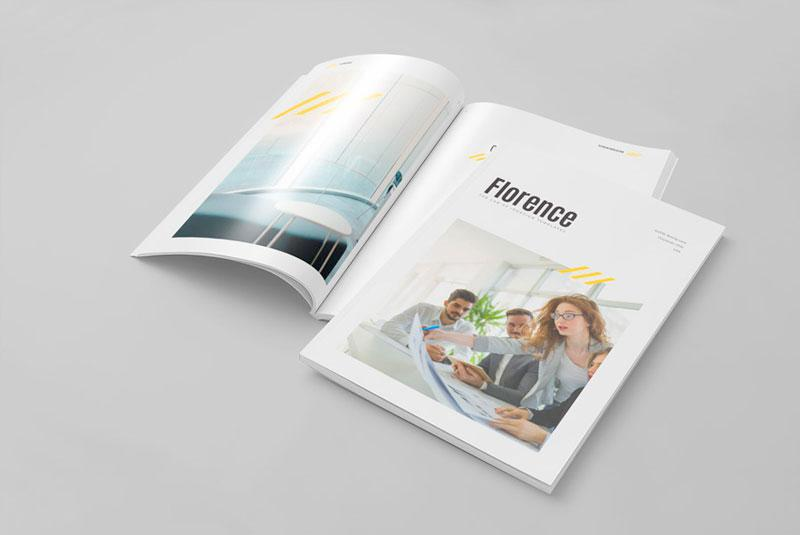 InDesign Template of the Month: Brochure