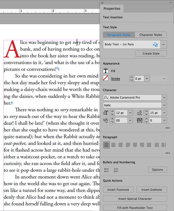 What's New With InDesign CC 2019