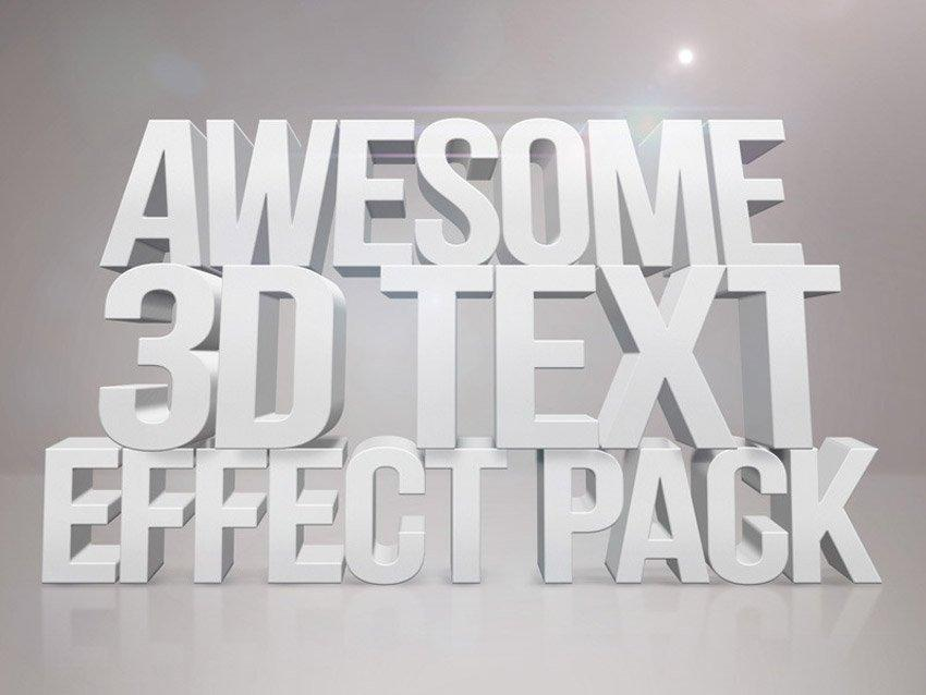 50 Amazing 3D Text Tutorials for Photoshop and Illustrator (Beginner to Advanced)