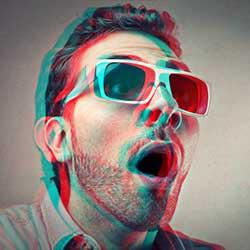 How to Create a Retro 3D Movie Effect in Photoshop